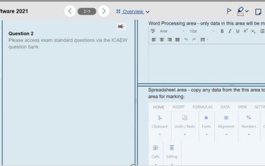 new icaew exam software